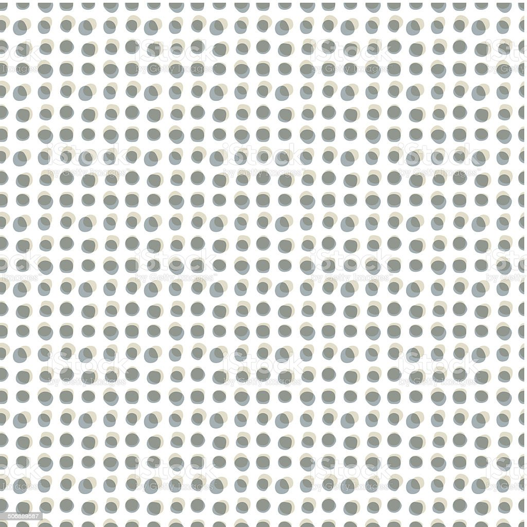Monochrome dots seamless pattern, vector background. vector art illustration