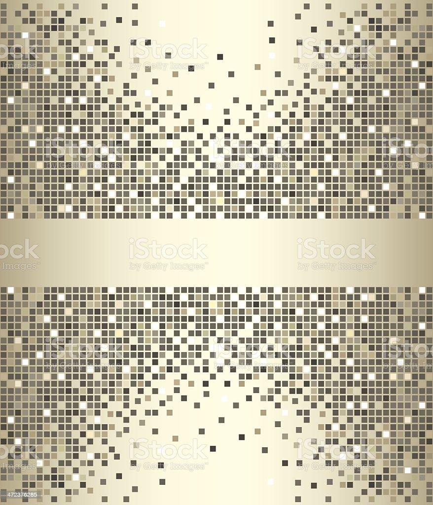 Monochrome mosaic royalty-free stock vector art