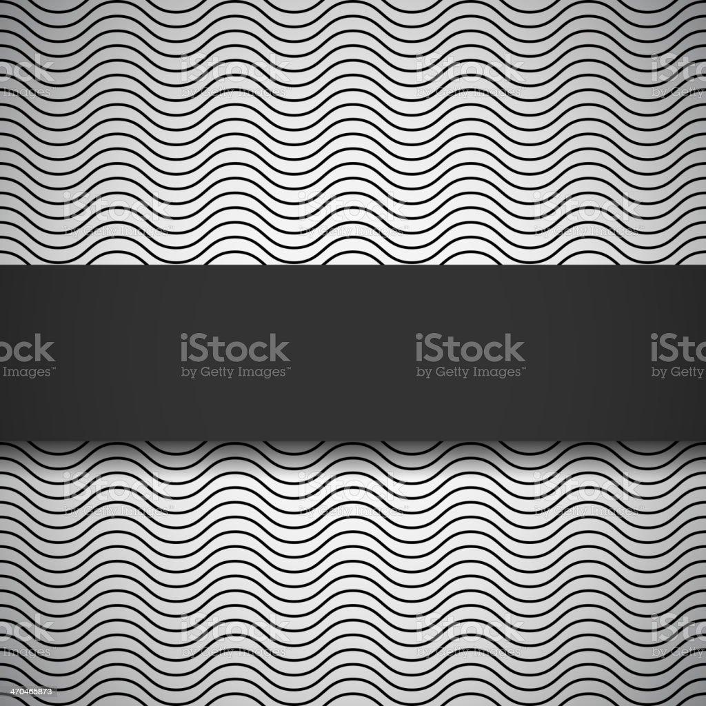 Monochrome seamless pattern vector art illustration