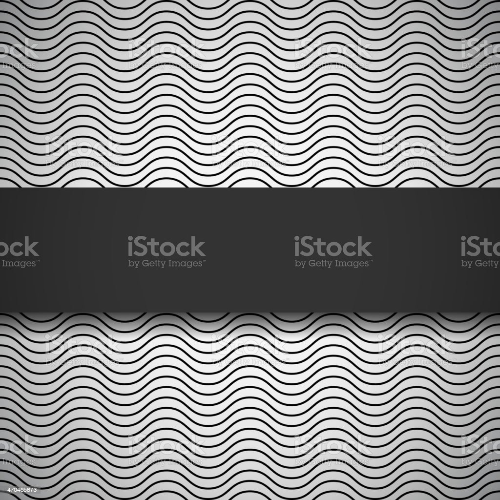 Monochrome seamless pattern vector art illustration