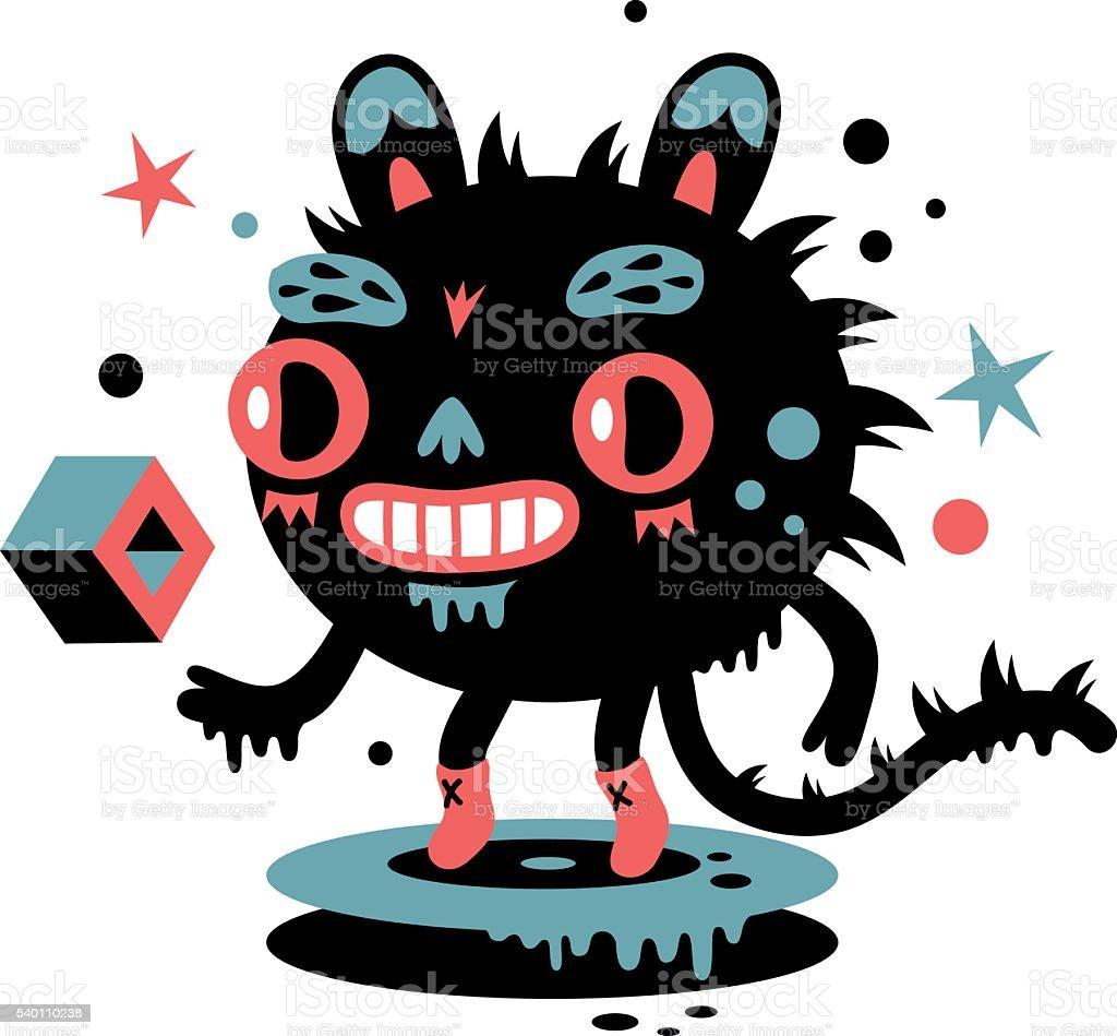 Monster vector art illustration
