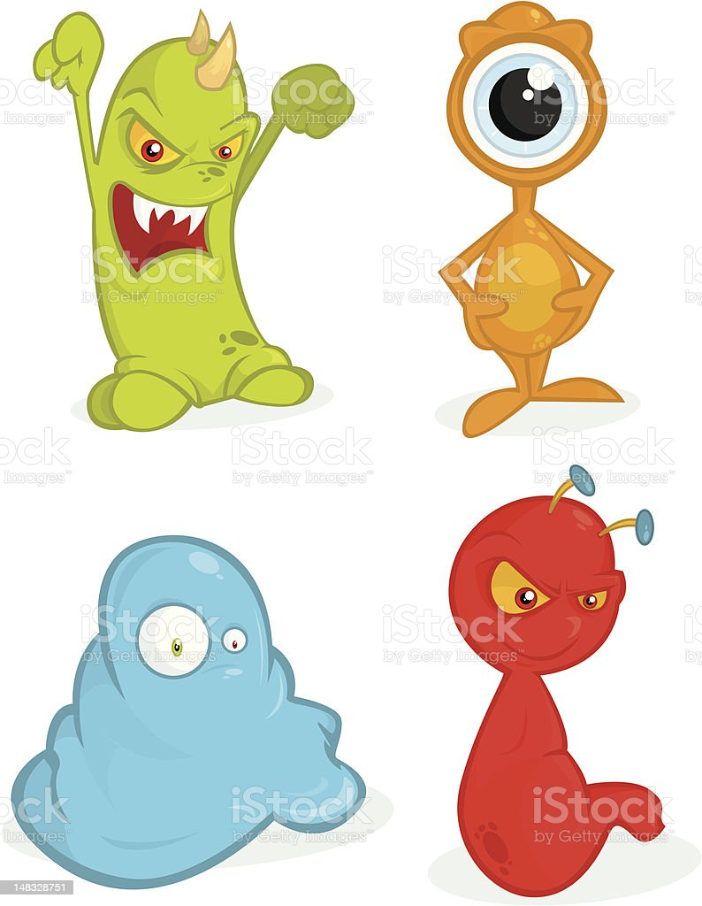 Monsters Ball royalty-free stock vector art