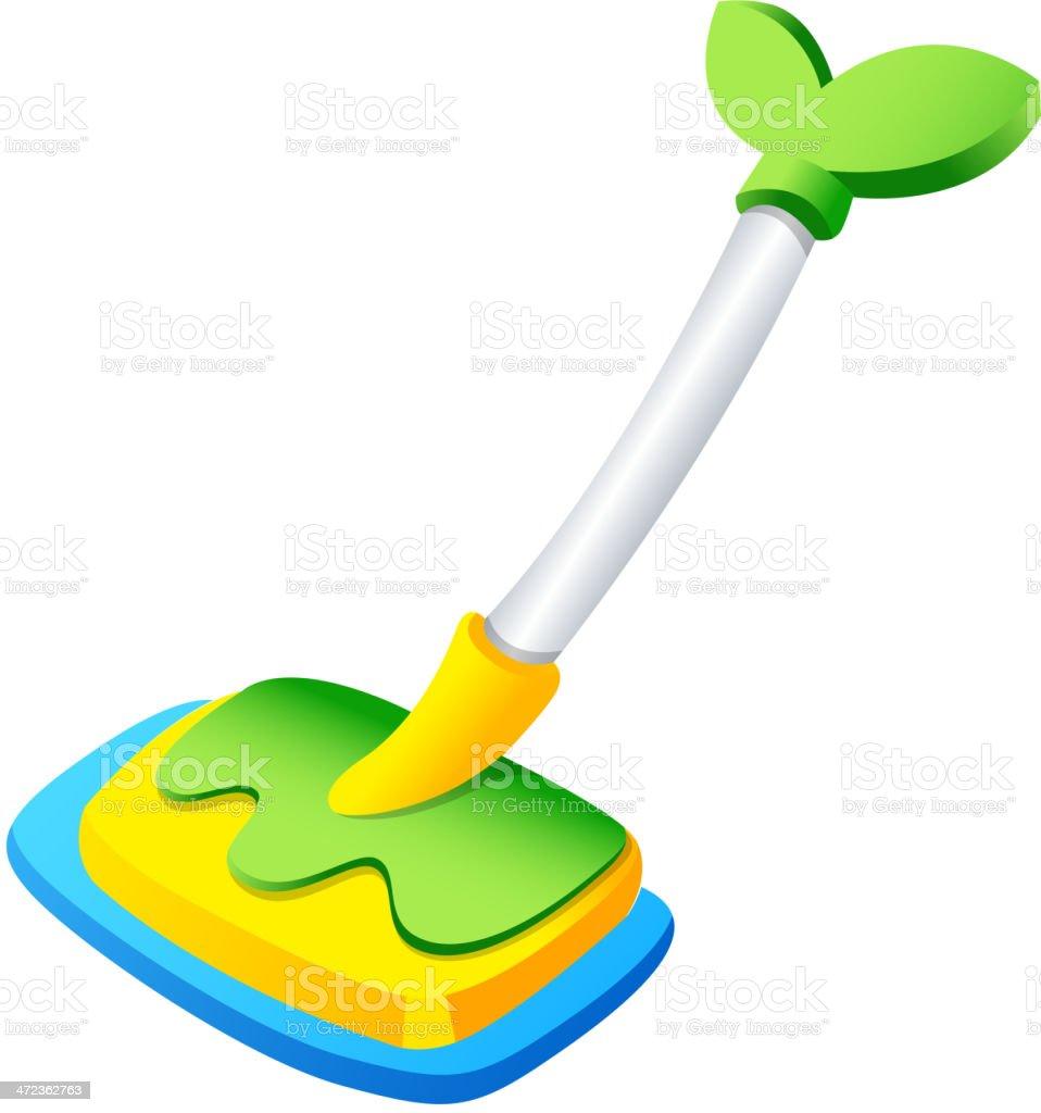 mop royalty-free stock vector art