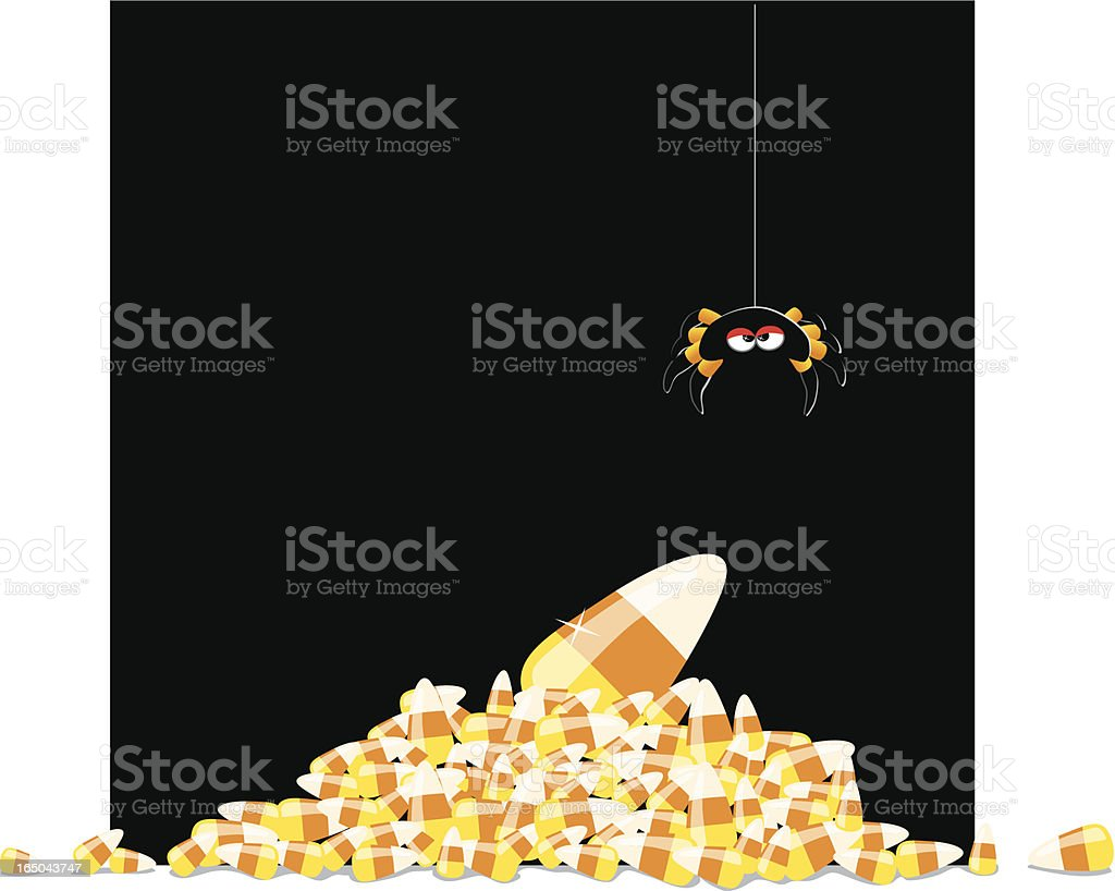 More Candycorn! vector art illustration