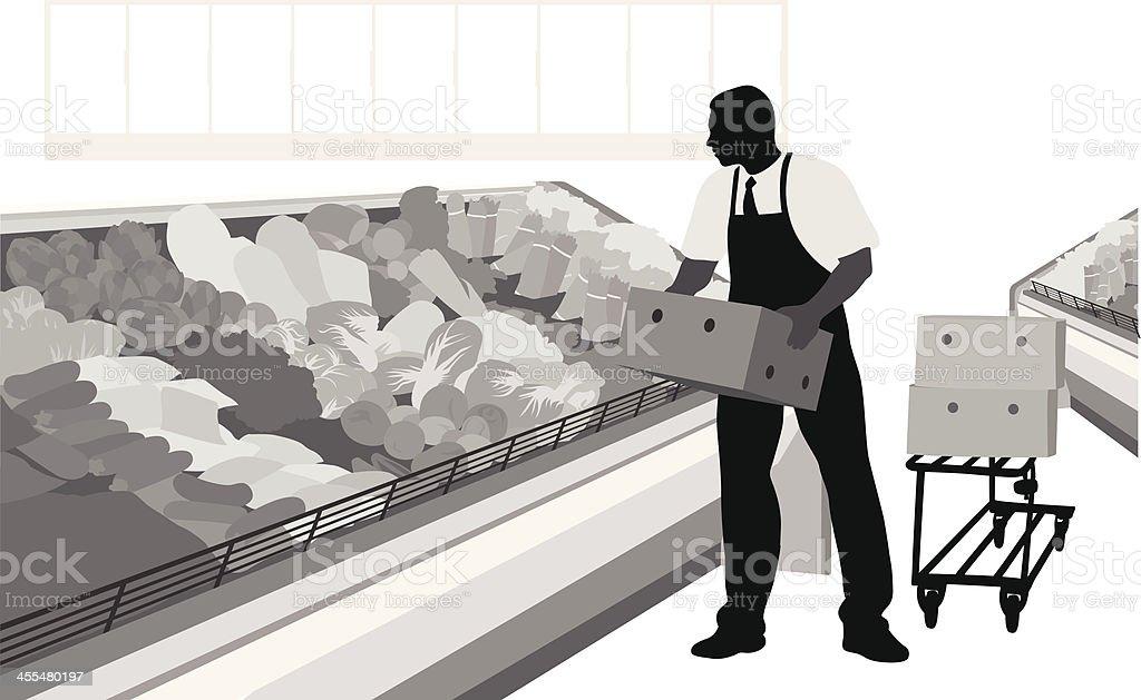 More Lettuce royalty-free stock vector art