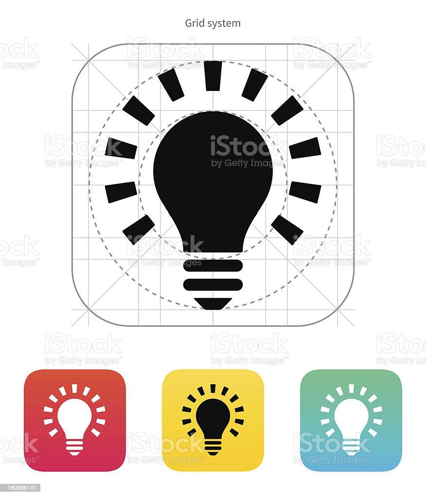 More light icon. Vector illustration. royalty-free stock vector art