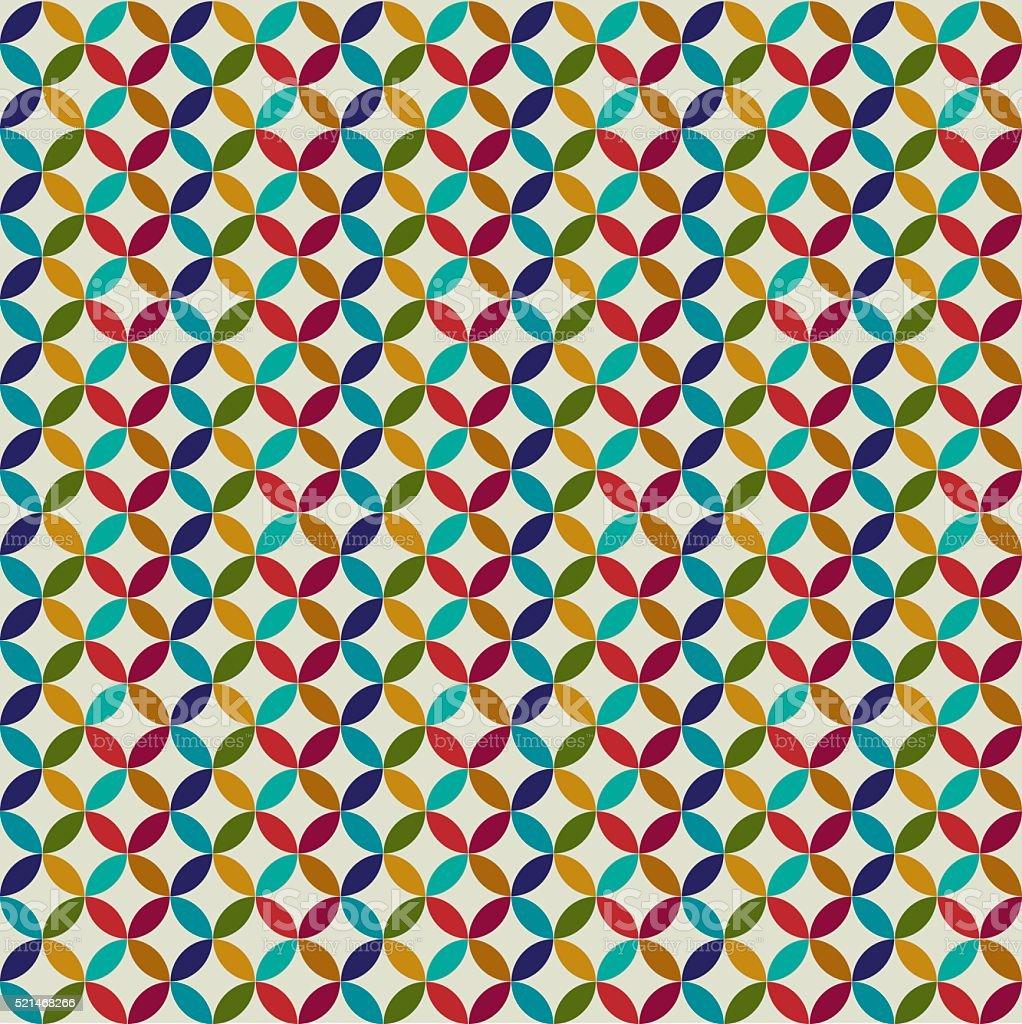 Circle Tiles Moroccan Circle Tiles Stock Vector Art 521468266 Istock