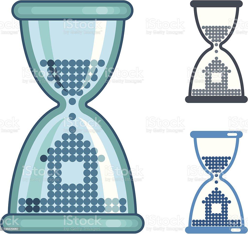 Mortgage symbol royalty-free stock vector art