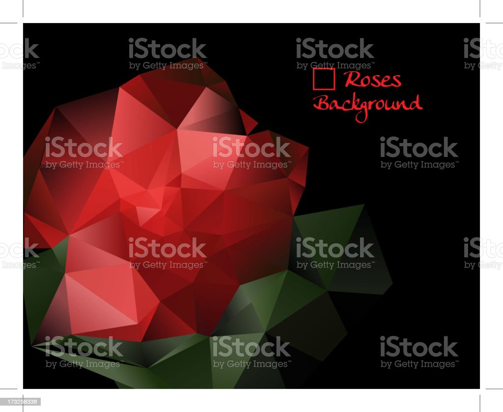 mosaic background royalty-free stock vector art