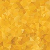 Mosaic Golden abstract templates