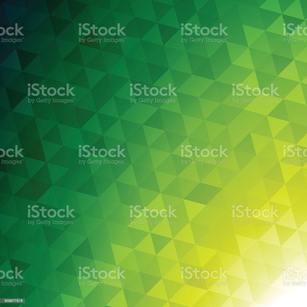 Mosaic Pattern background vector art illustration