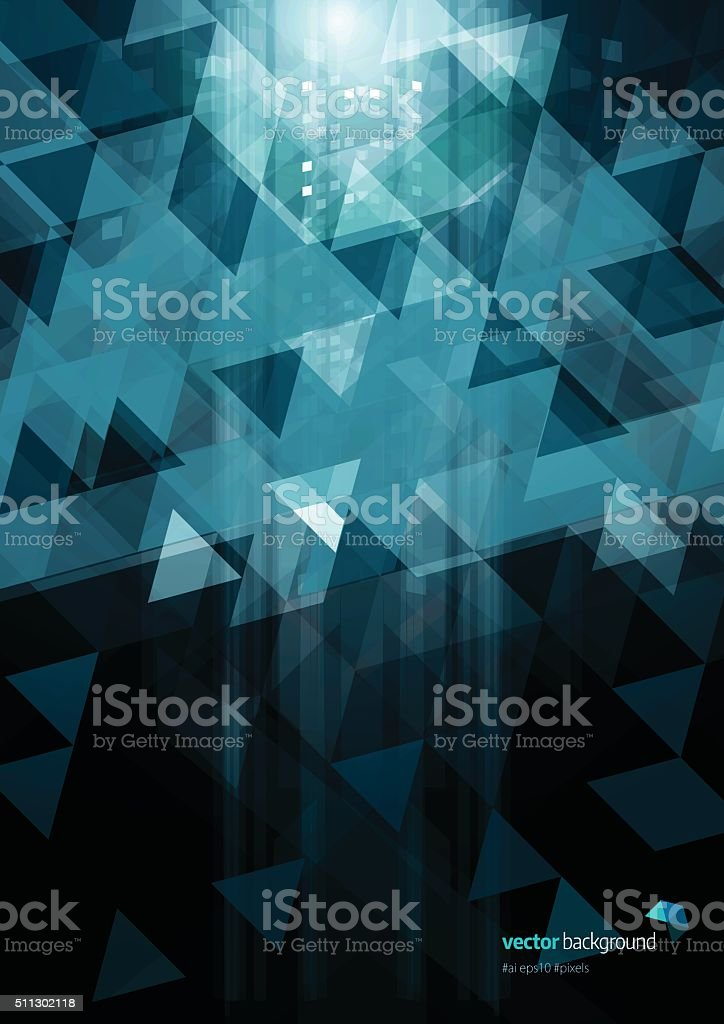 Mosaic Pattern background vector art illustration