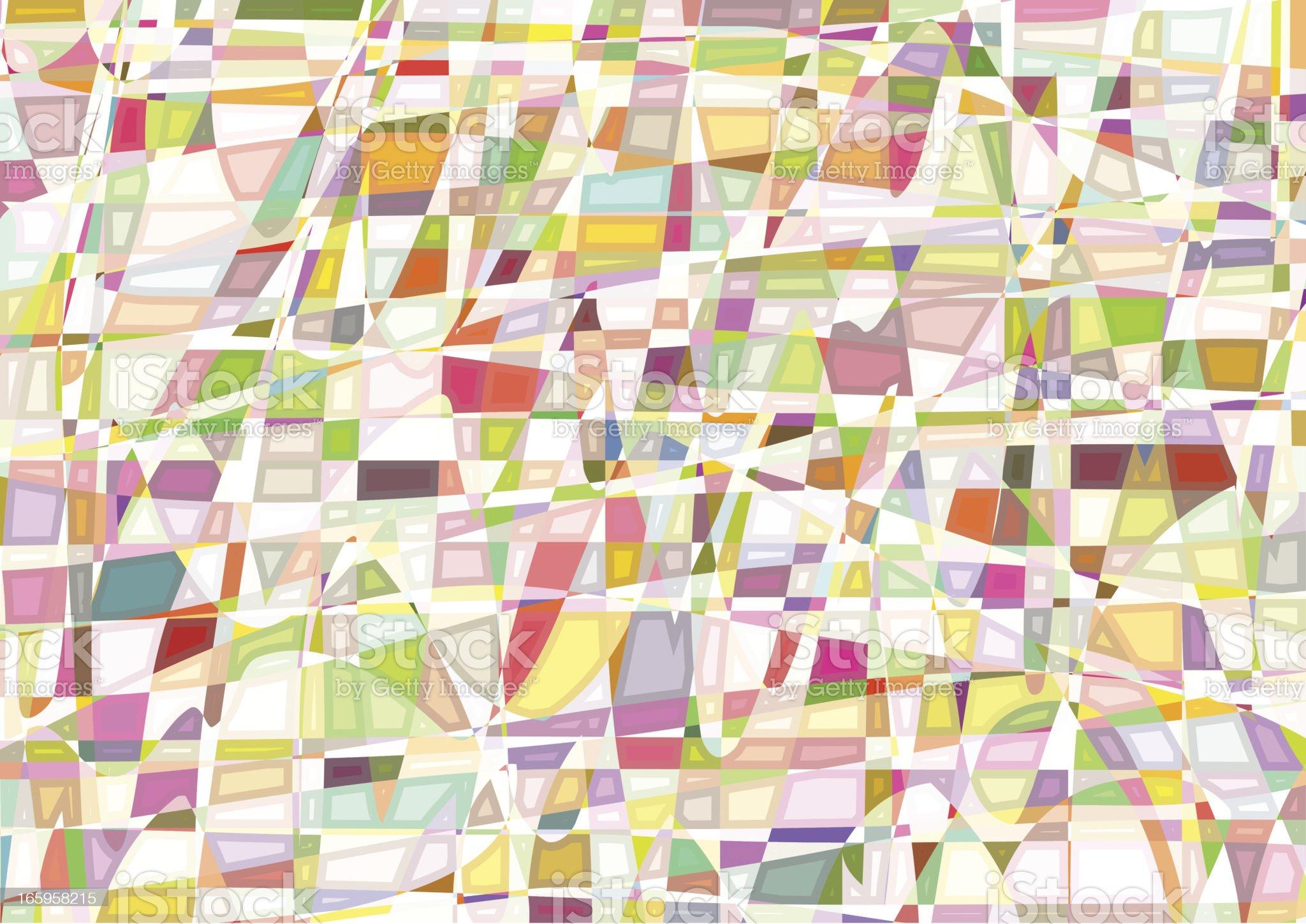 Mosaic retro background. royalty-free stock vector art