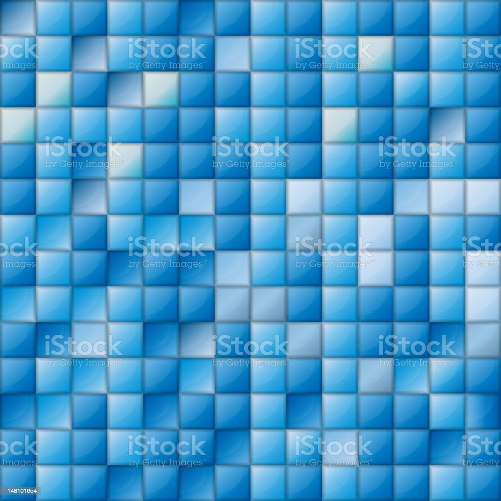 mosaic seamless pattern background royalty-free stock vector art
