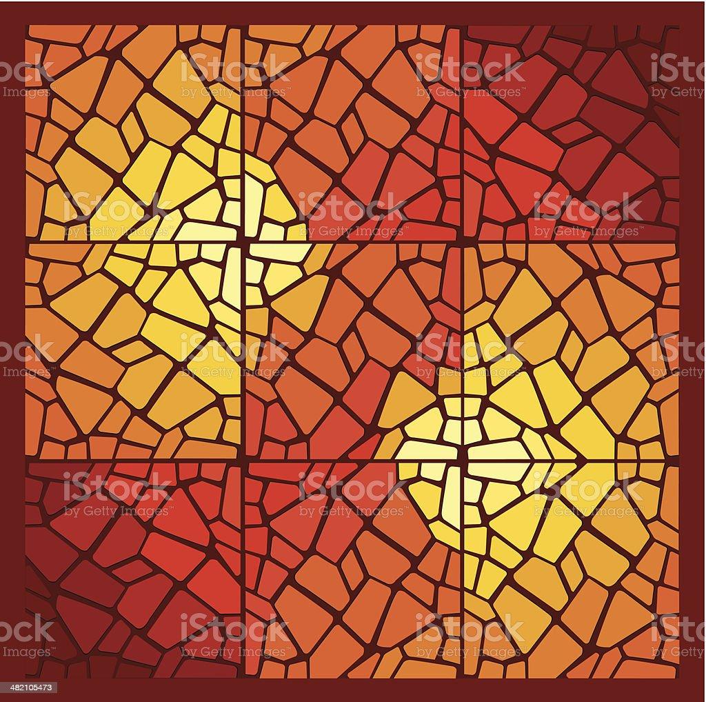 Mosaic royalty-free stock vector art