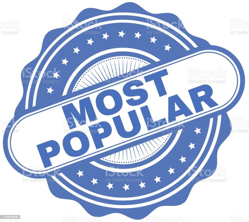 Most Popular vector art illustration