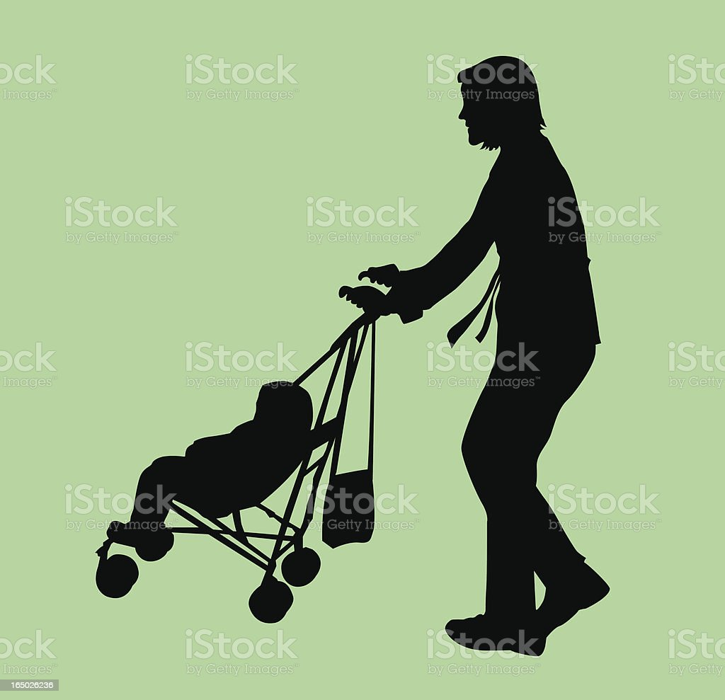 Motherhood ( Vector ) royalty-free stock vector art