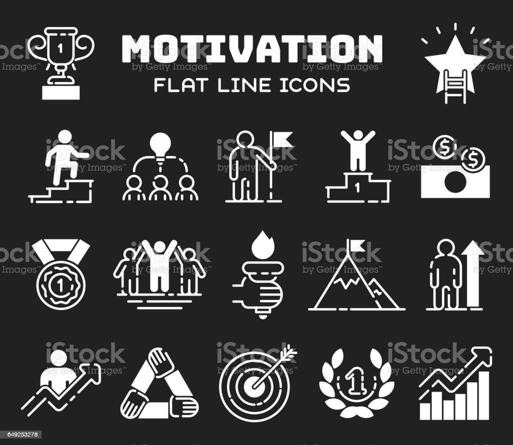 motivation concept chart icon business strategy development design motivation concept chart icon business strategy development design and management leadership teamwork growth career idea creativity