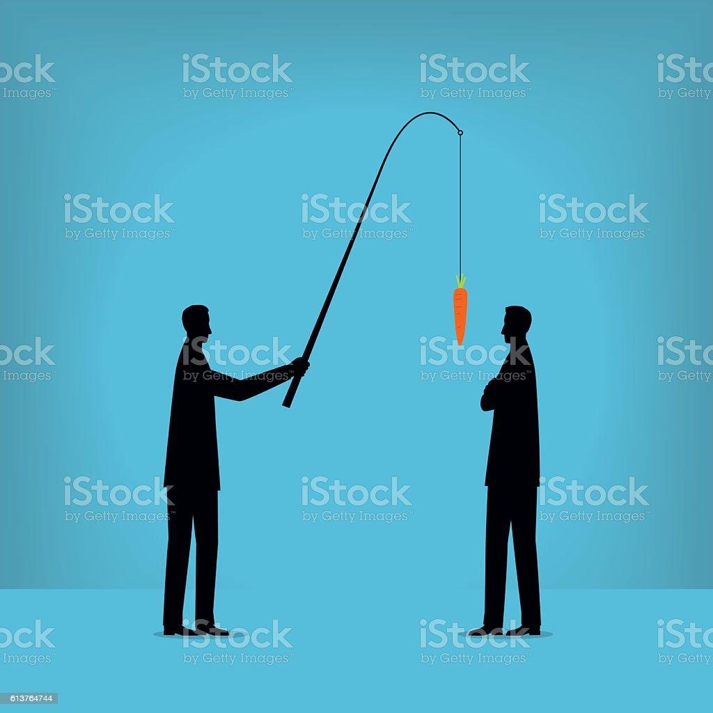 Motivation vector art illustration