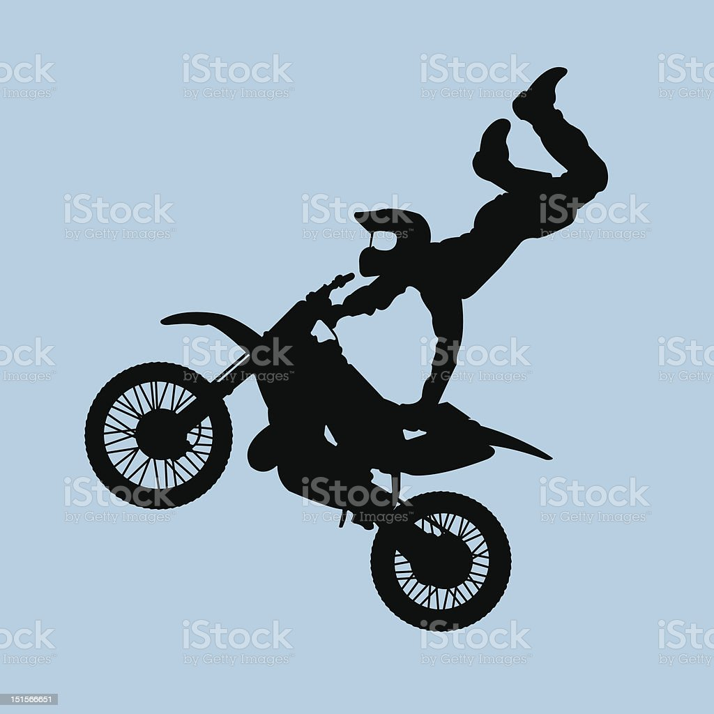 moto look up! royalty-free stock vector art