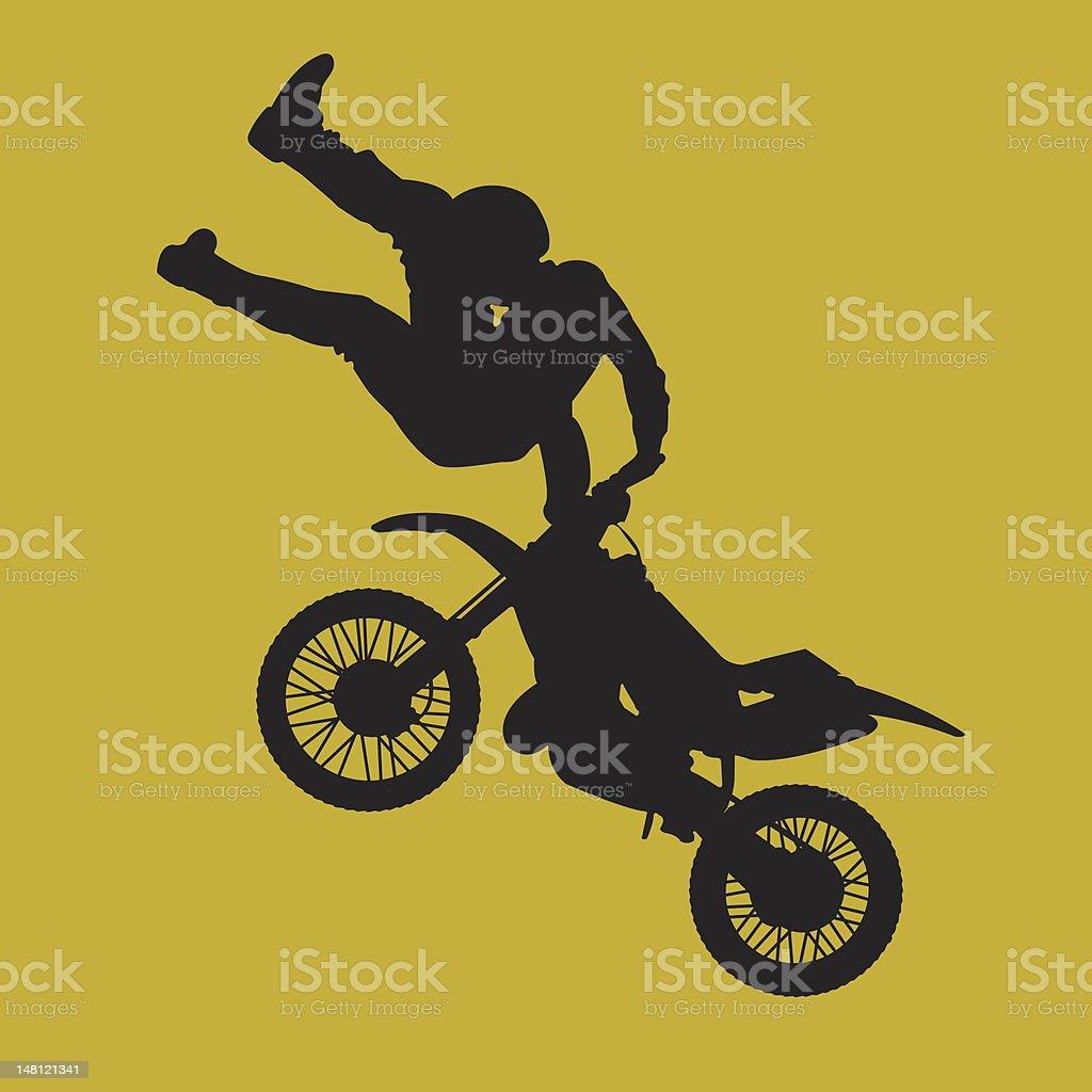 moto mayhem madness royalty-free stock vector art