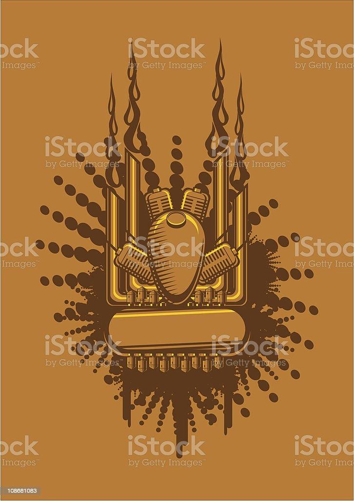 motor vector art illustration