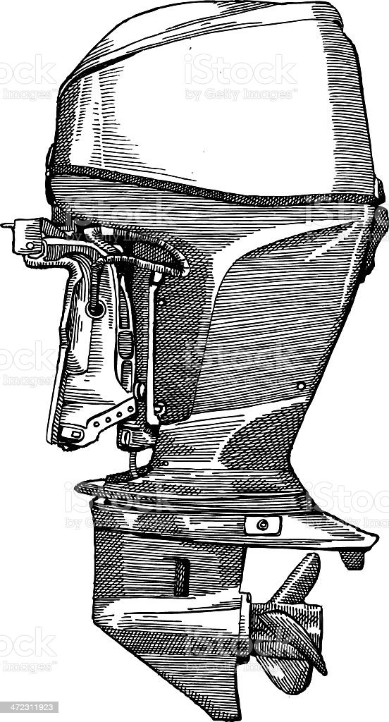 Motor royalty-free stock vector art