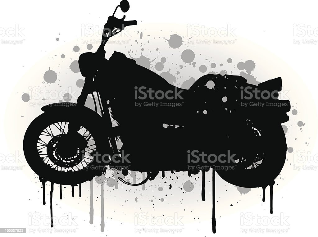 Motorbike royalty-free stock vector art