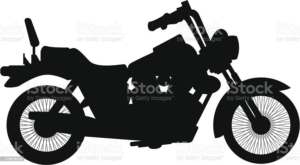motorcycle royalty-free stock vector art