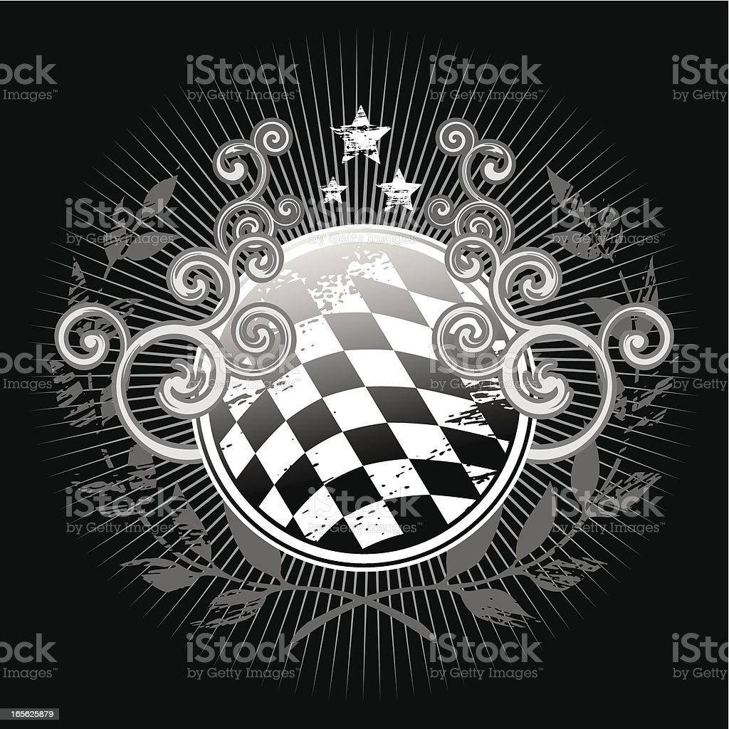 Motorsport banner royalty-free stock vector art