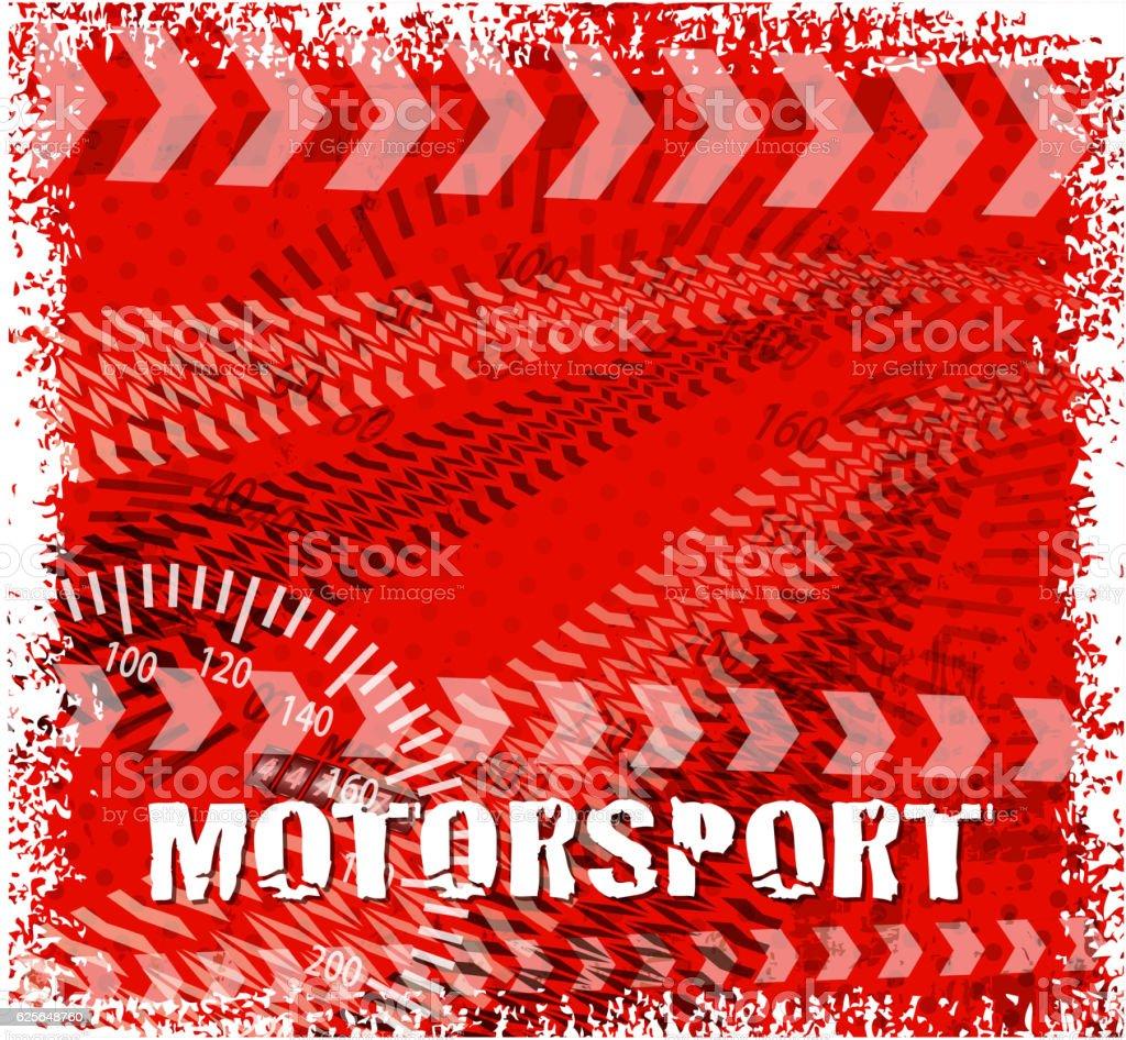 motorsport frame vector art illustration