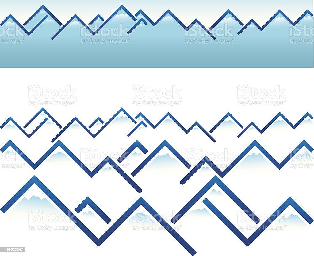 mountain ridge royalty-free stock vector art