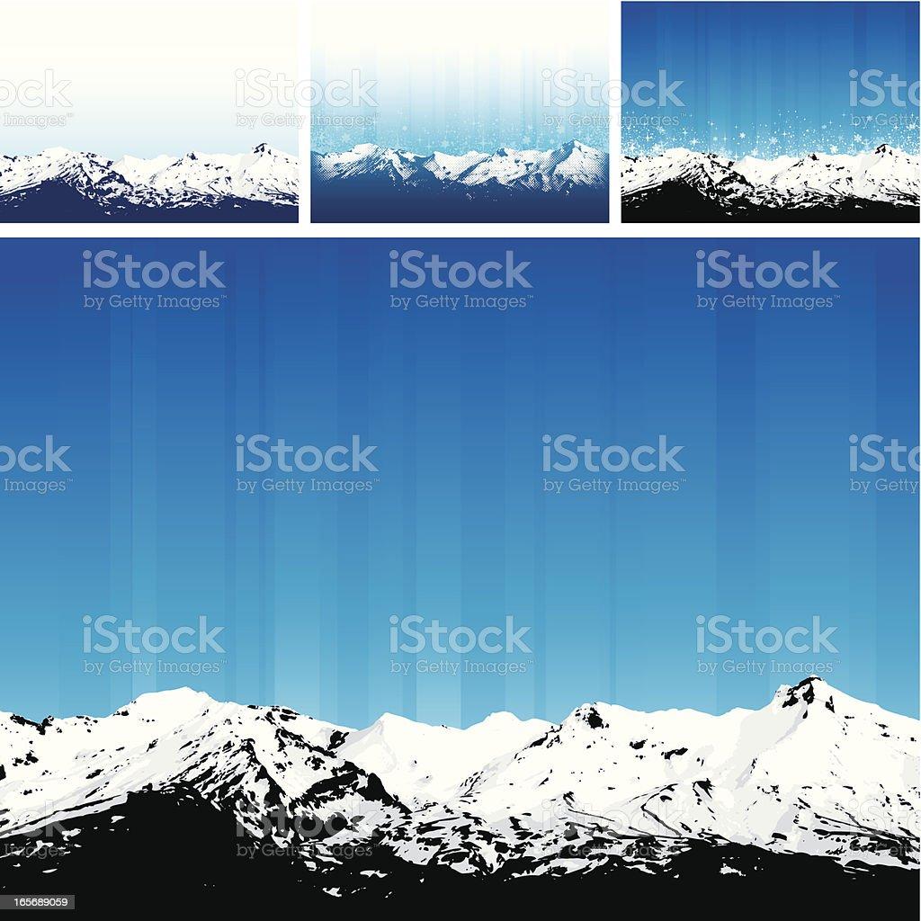 Mountains royalty-free stock vector art