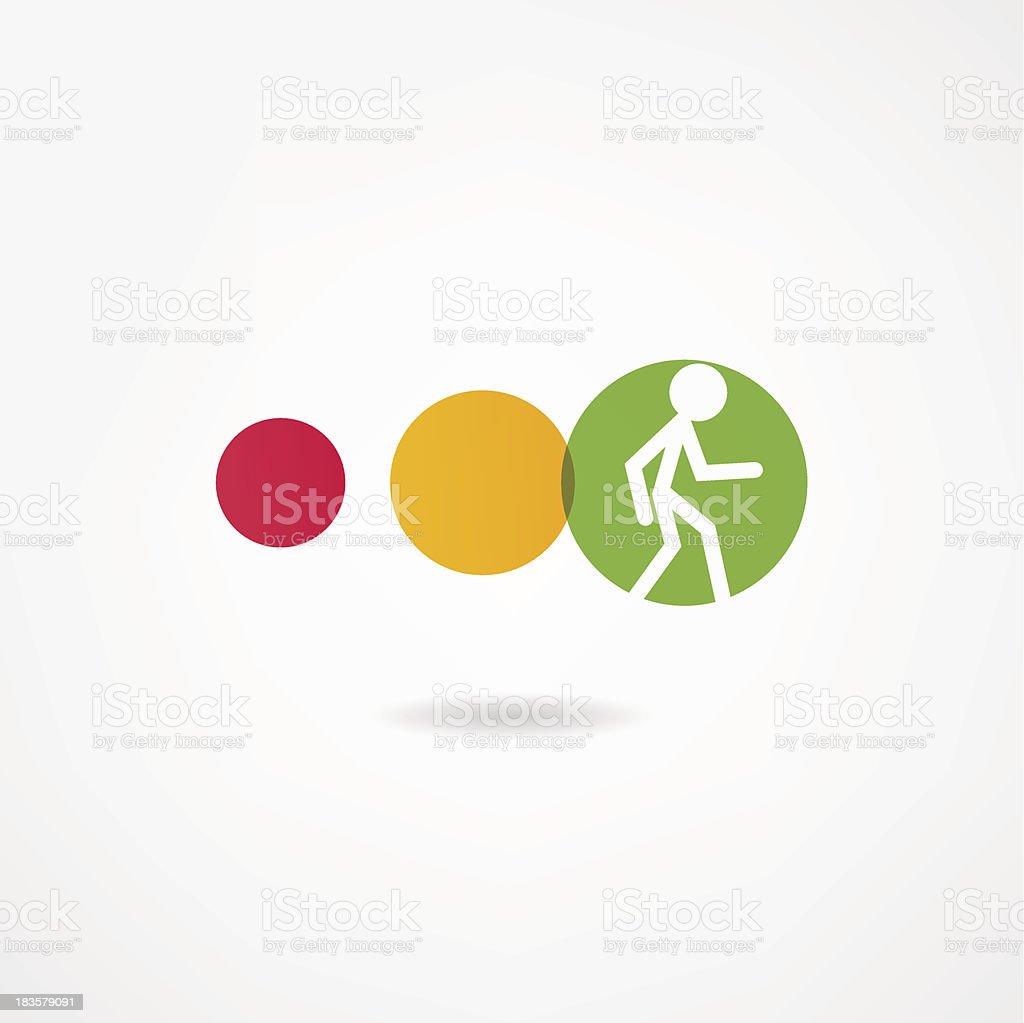 movement icon royalty-free stock vector art