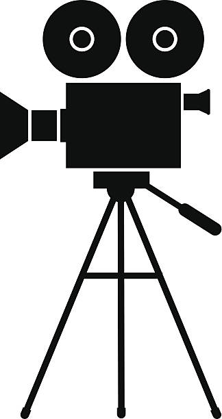 Movie Camera Clip Art, Vector Images & Illustrations - iStock