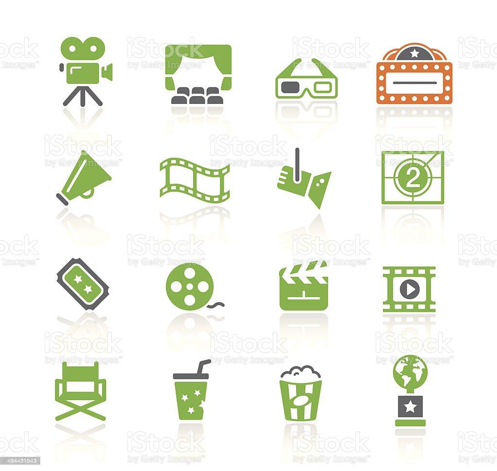 Movie & Cinema   Spring Series vector art illustration
