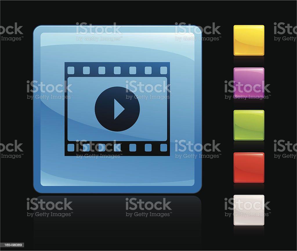 Movie icon royalty-free stock vector art