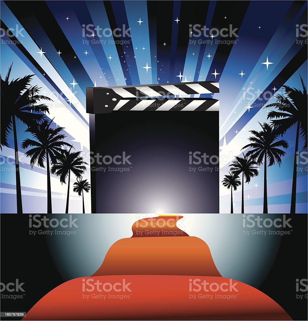 Movie Show royalty-free stock vector art
