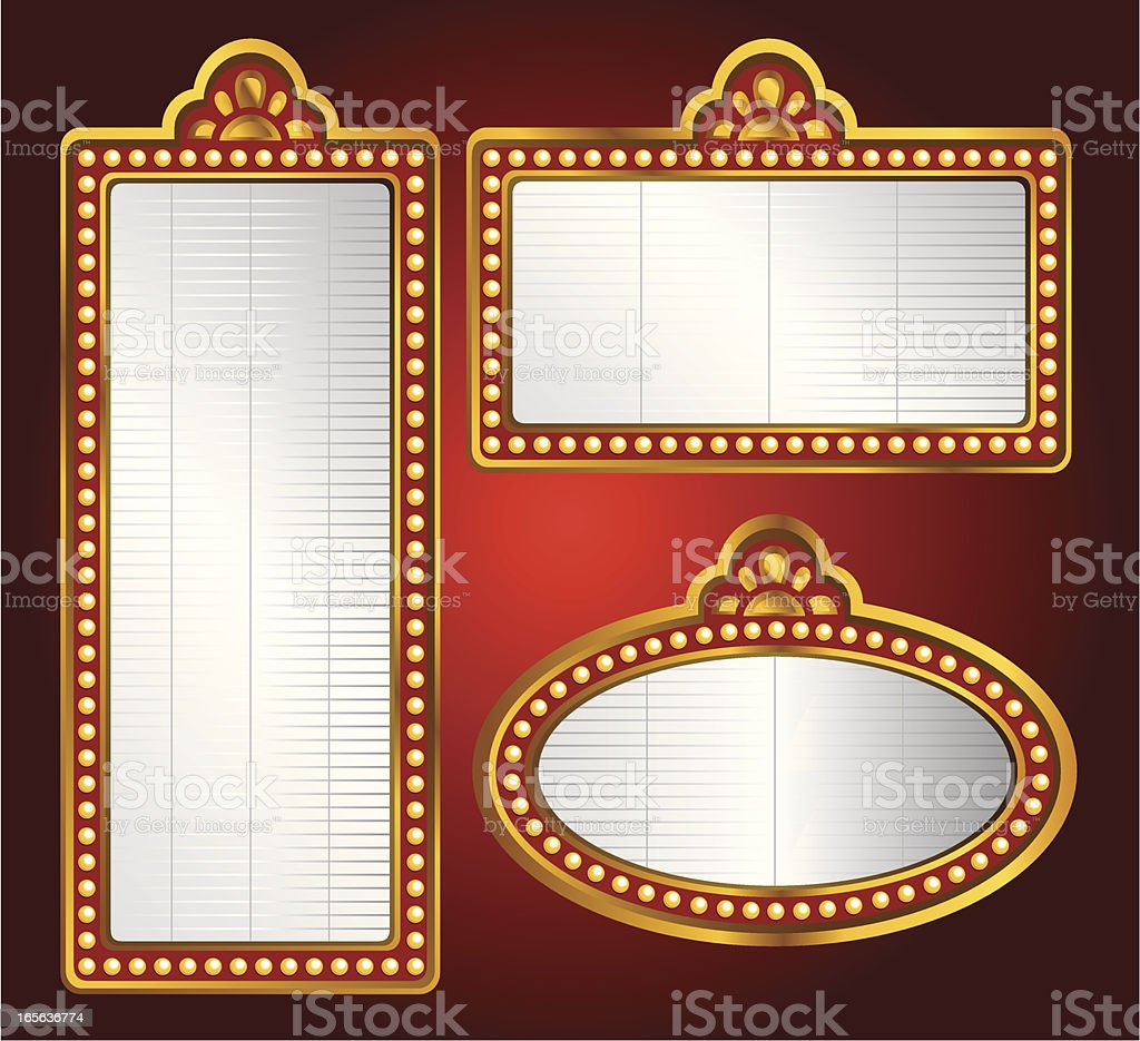 Movie Theater Background royalty-free stock vector art