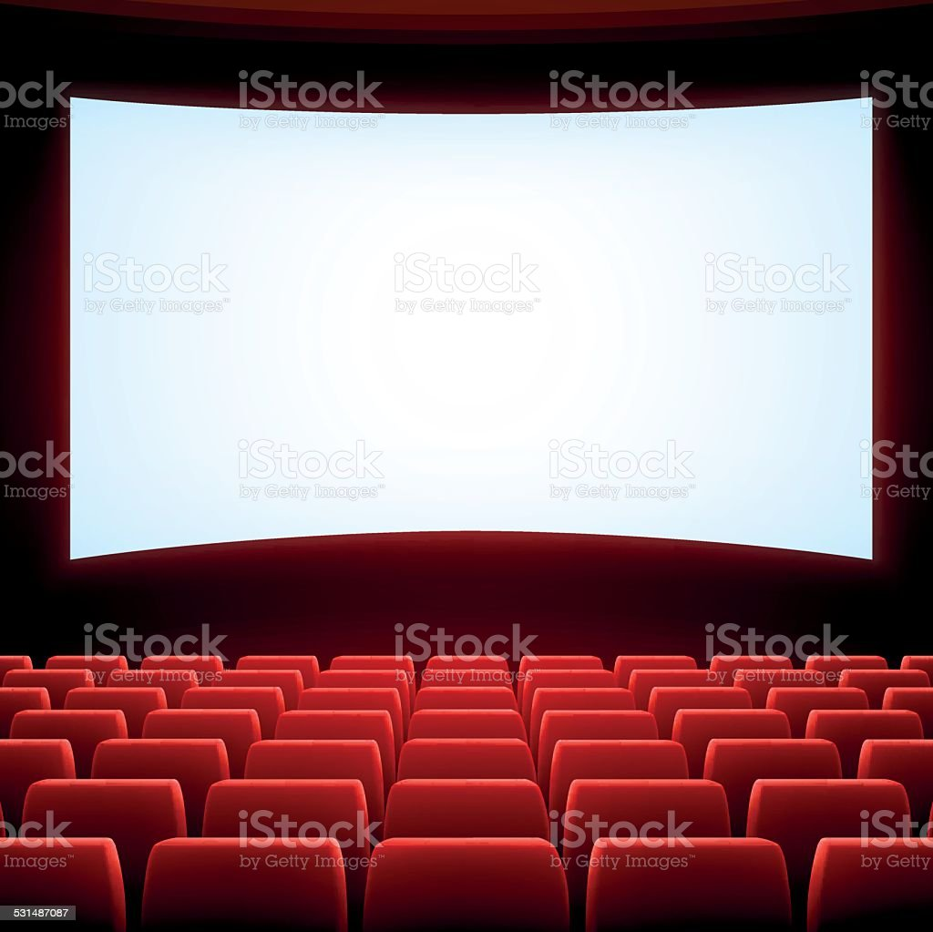 projection screen clip art  vector images   illustrations Movie Ticket Clip Art movie theater screen clipart