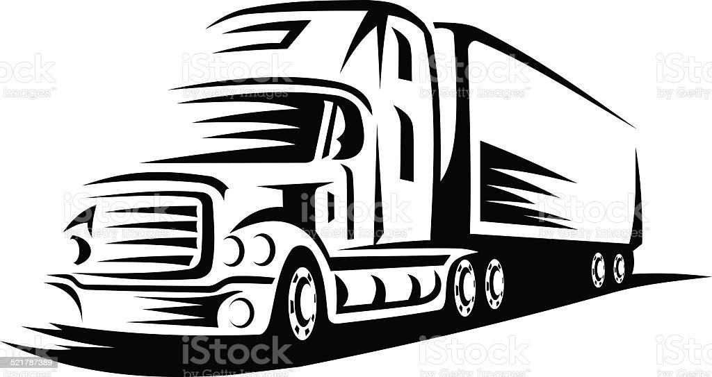 Moving Truck stock vector art 521787389 | iStock