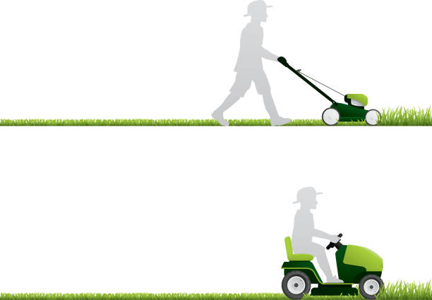lawn mower vector - photo #8