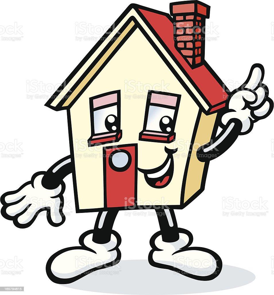 Mr House royalty-free stock vector art