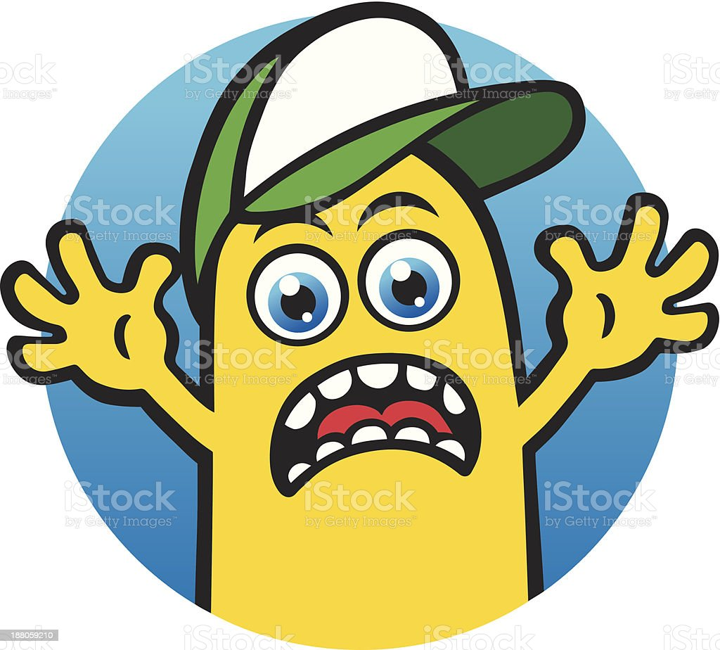 Mr Yellow royalty-free stock vector art
