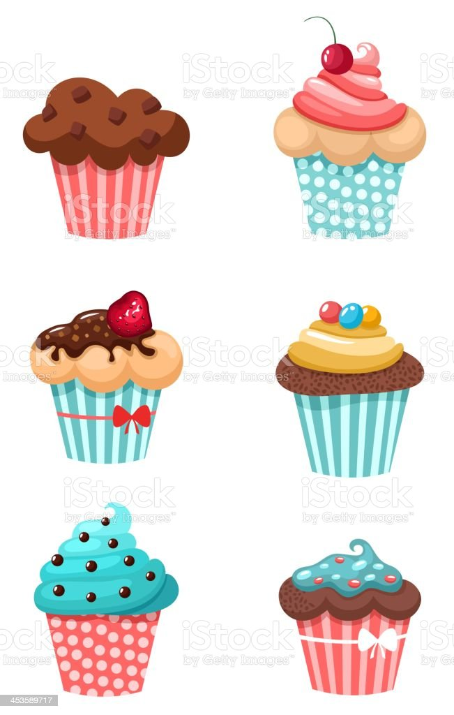 muffins royalty-free stock vector art