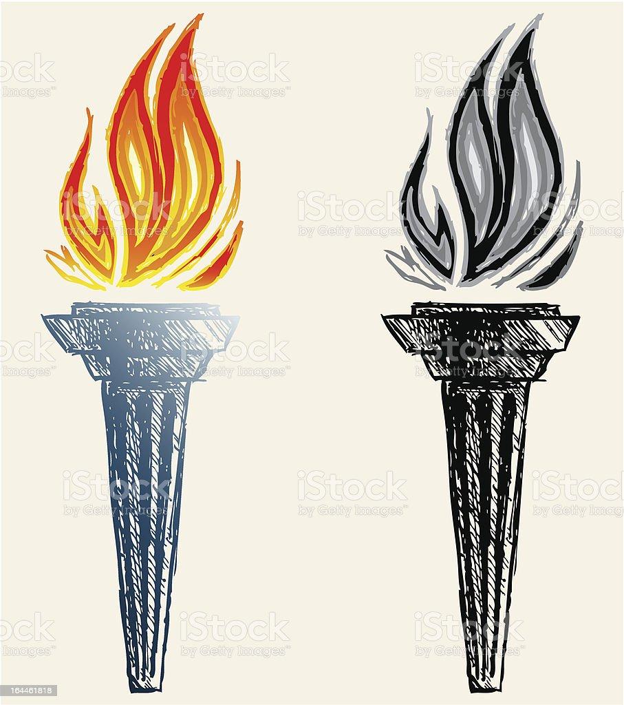 flamme de feu stock vecteur libres de droits 164461818. Black Bedroom Furniture Sets. Home Design Ideas