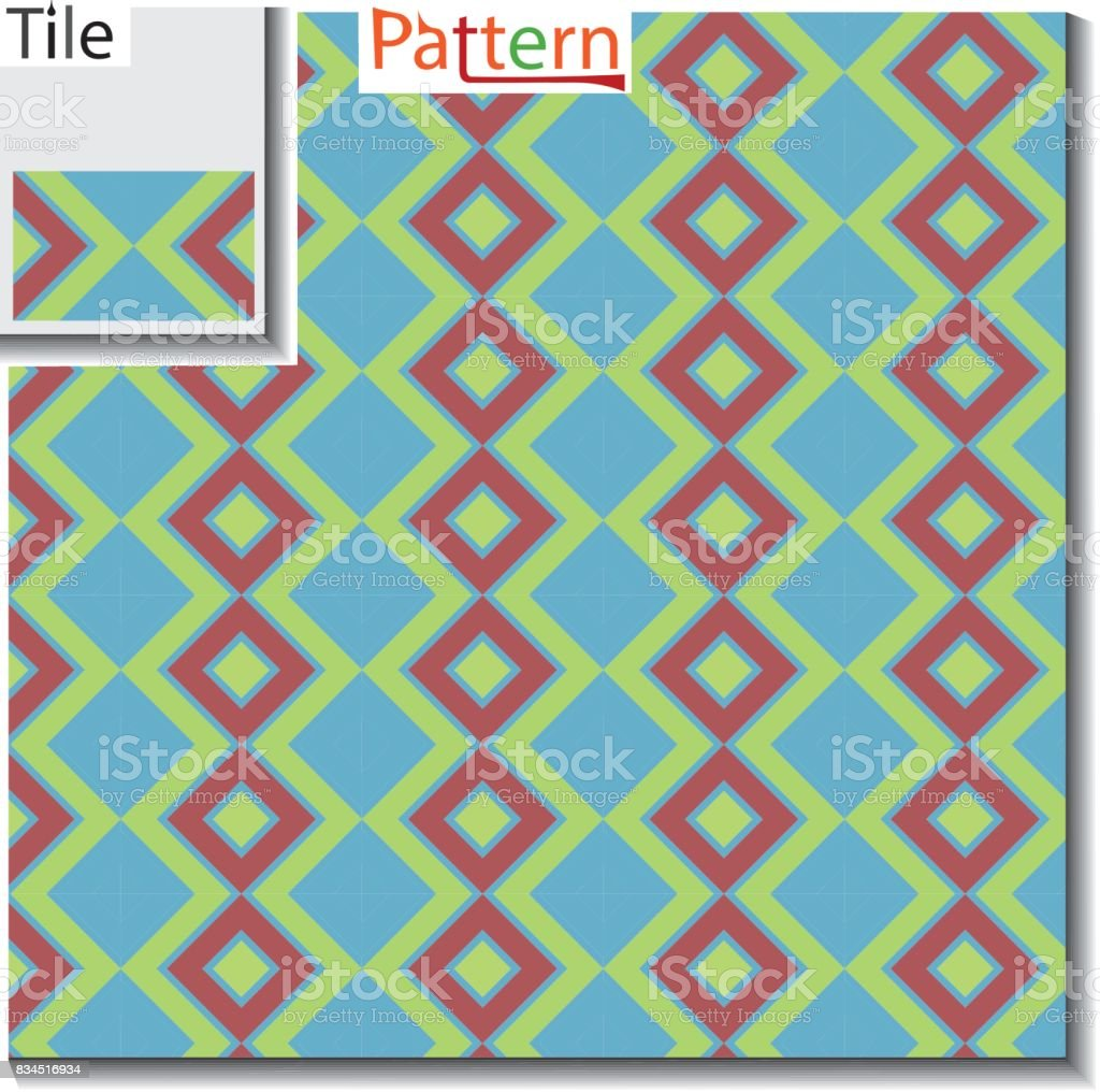 multi colored Diagonal square type seamless pattern vector which looks alike  multi color geometrical gems like flat check pattern it is seamless square art pattern and checkered texture pattern  textile fabric swatch which is pattern like Asian fashion c vector art illustration