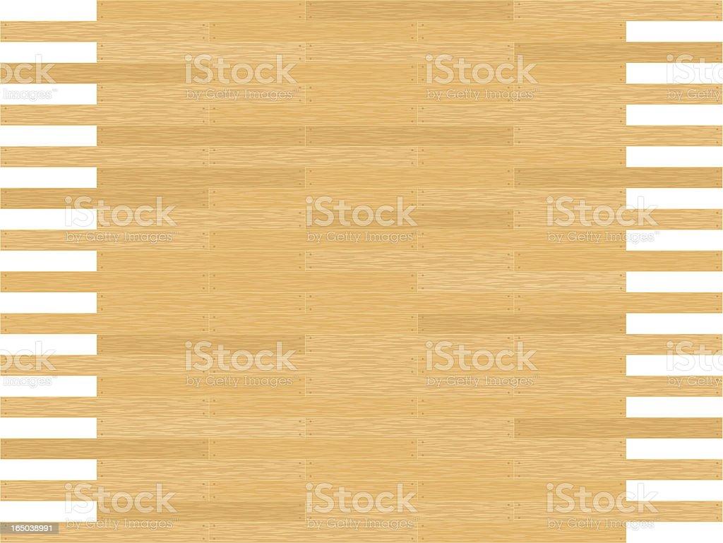 Multi Light Wood Panel royalty-free stock vector art