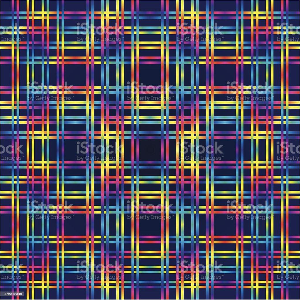 Multicolor huichol background royalty-free stock vector art