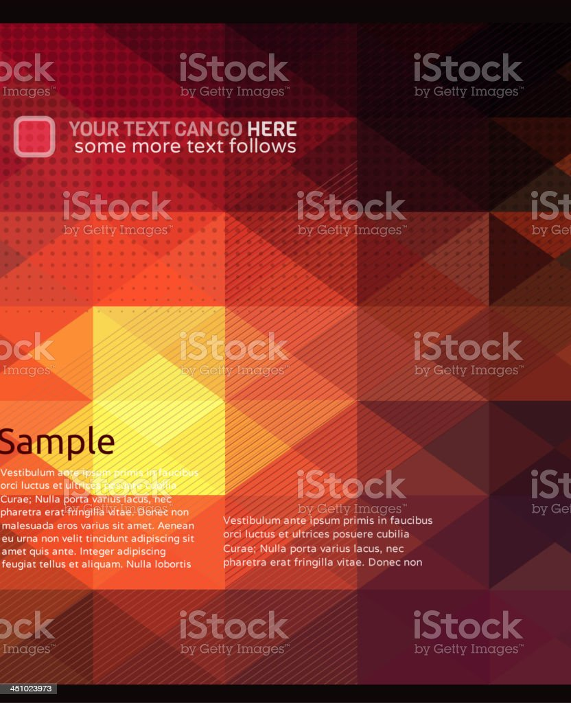 Multicolored background royalty-free stock vector art